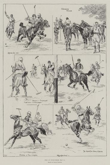 Polo at Hurlingham, 11 May-Ralph Cleaver-Giclee Print
