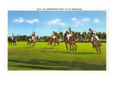 Polo Game--Art Print