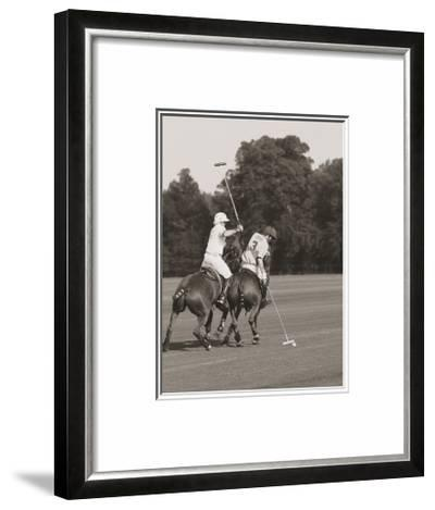 Polo In The Park II-Ben Wood-Framed Art Print