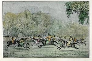 Polo in Thibet, 19th Century