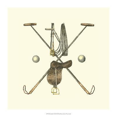Polo Saddle-Vision Studio-Art Print