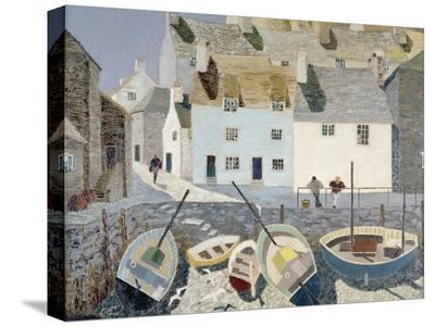 Polperro-Eric Hains-Stretched Canvas Print