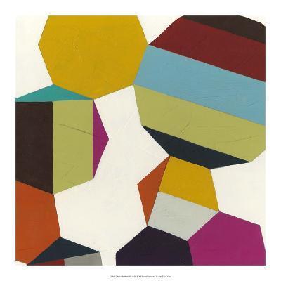 Poly-Rhythmic III-Erica J^ Vess-Art Print