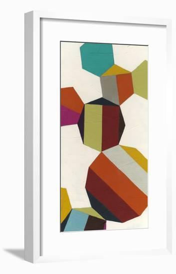 Poly-Rhythmic V-Erica J. Vess-Framed Art Print