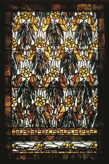 Polychromatic Stained Glass Window--Giclee Print
