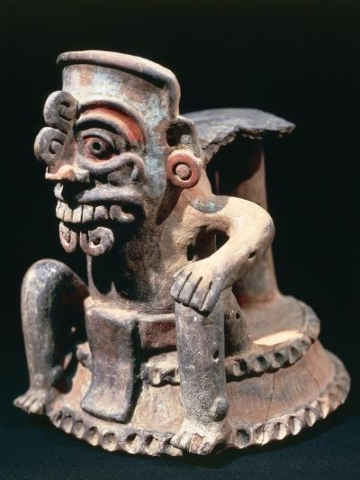 Polychrome Ceramic Statuette, from Guatemala Highlands--Giclee Print