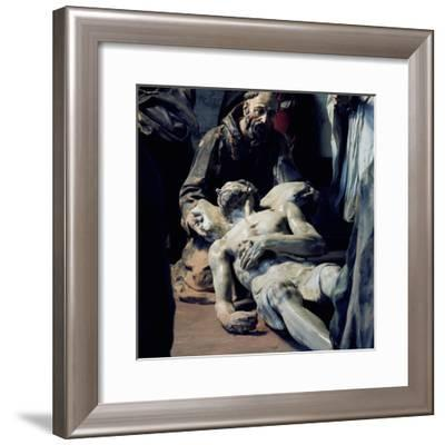 Polychrome Tableaux--Framed Giclee Print