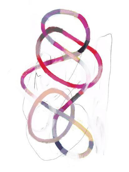Polychrome Tangle I-Victoria Borges-Art Print