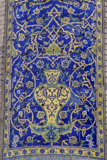 Polychrome Tile Decoration, Imam Mosque--Giclee Print