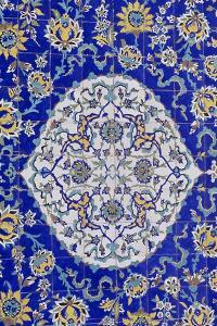 Polychrome Tile Decoration, Sheikh Lutfollah Mosque