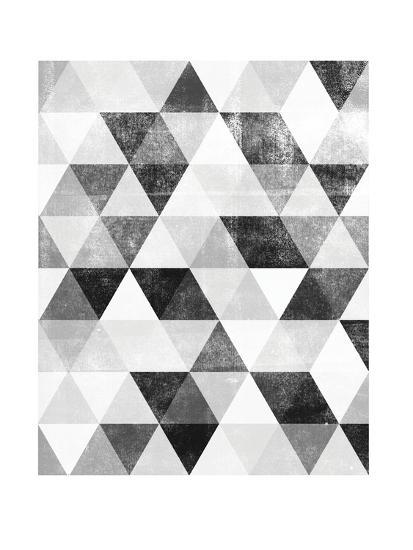 Polygon Pattern-Brett Wilson-Art Print
