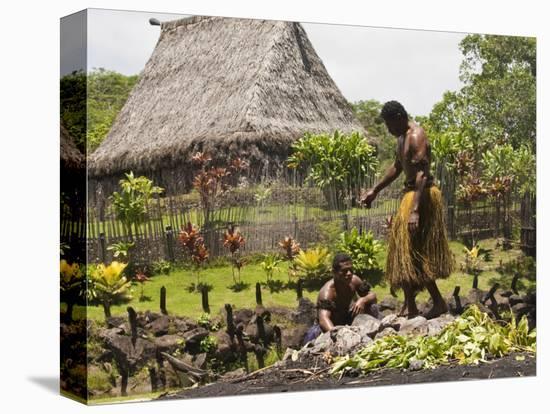 Polynesian Cultural Center, Viti Levu, Fiji, South Pacific, Pacific-Michael DeFreitas-Stretched Canvas Print