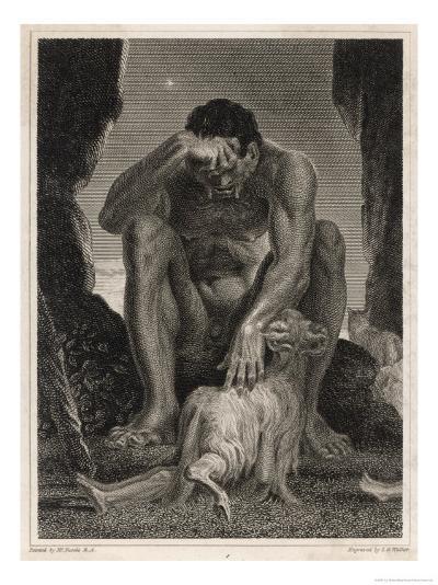 Polyphemus the Cyclops-T.g. Walker-Giclee Print