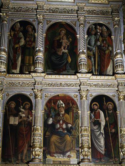 Polyptych of St. Ambrose, 1547--Giclee Print