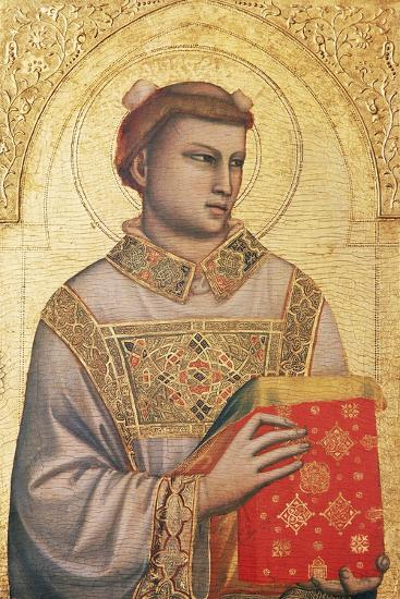 Polyptych of St Stephen, 1330 - Ca1335-Giotto di Bondone-Giclee Print