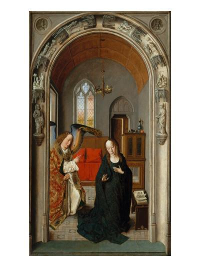 Polyptych of the Childhood of Christ, Panel with Annunciation-Dieric Bouts-Giclee Print