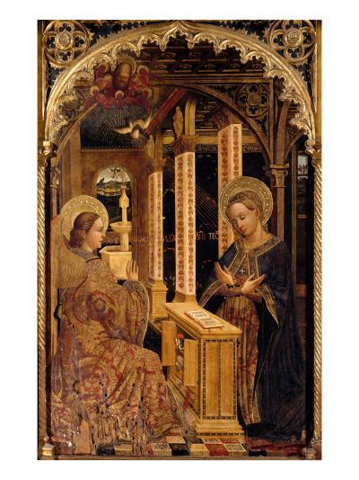 Polyptych with Annunciation and Saints-Mazone Giovanni-Giclee Print