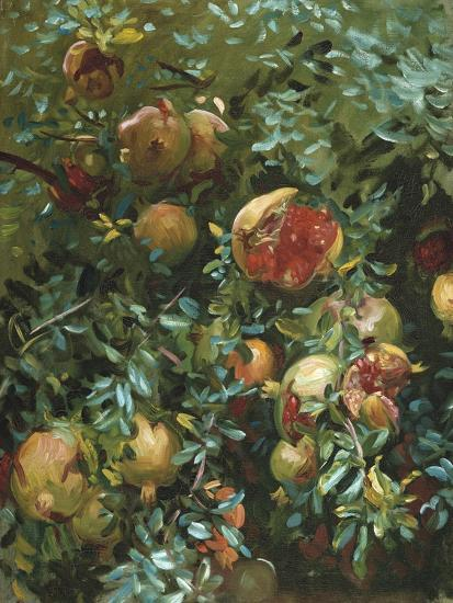 Pomegranates, Majorca-John Singer Sargent-Giclee Print