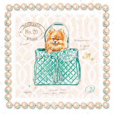 Pomeranian Puppy Purse-Chad Barrett-Art Print