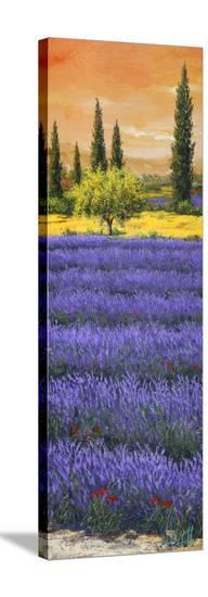 Pomeriggio Tra La Lavanda-Tebo Marzari-Stretched Canvas Print