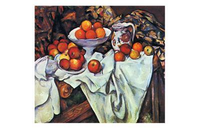 Pommes et Oranges-Paul C?zanne-Art Print