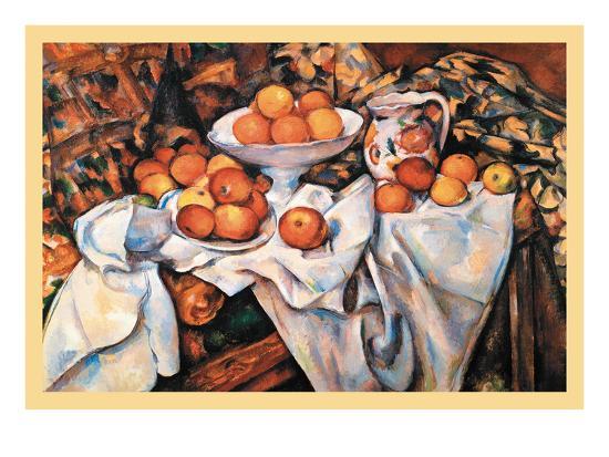 Pommes Et Oranges--Art Print