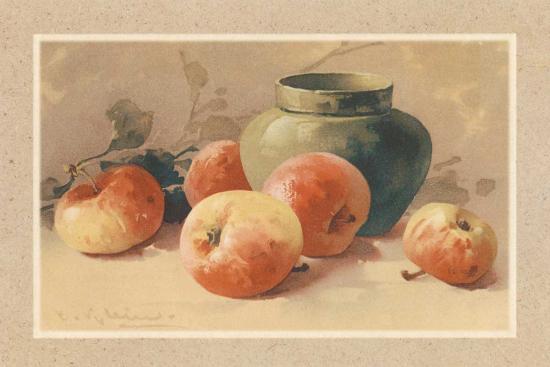 Pommes Rouges-C. Klein-Art Print
