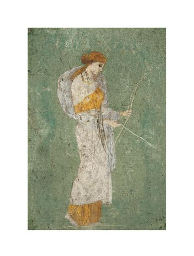 Pompei Diana--Art Print