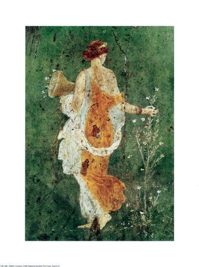 Pompei la Primavera--Art Print