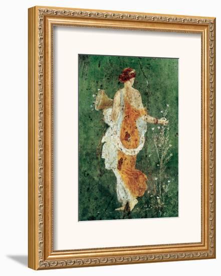 Pompei la Primavera--Framed Art Print