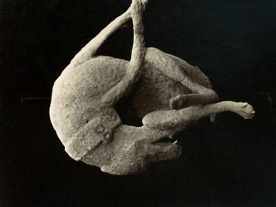 Pompeii: Plaster Cast--Photographic Print