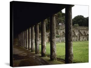 Pompeii, Quadriporticus