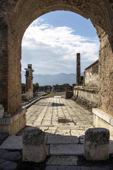 Pompeii Ruins, UNESCO World Heritage Site, Campania, Italy, Europe-Angelo Cavalli-Photographic Print