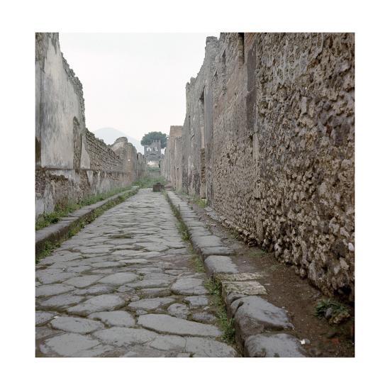 Pompeii Street--Giclee Print