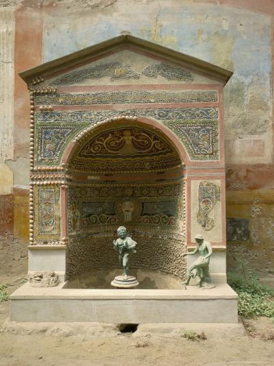 Pompeii, Unesco World Heritage Site, Campania, Italy-Roy Rainford-Photographic Print