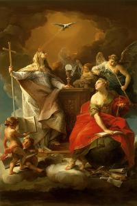 Allegory of Religion by Pompeo Batoni