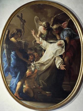 Ecstasy of St. Catherine of Siena, 1743