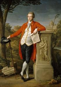 Francis Basset, I Baron of Dunstanville, 1778 by Pompeo Batoni