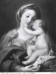 Madonna and Child, 1708 by Pompeo Batoni