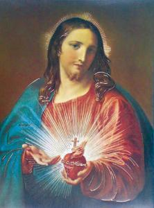 Sacred Heart of Jesus by Pompeo Batoni