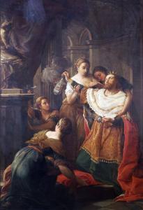 Solomon Worshiping False Gods by Pompeo Batoni