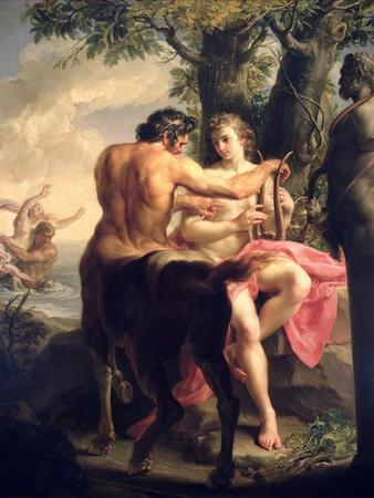 The Education of Achilles by Chiron, 1746