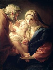The Holy Family, 1740S by Pompeo Batoni