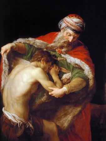 Return of the Prodigal Son, 1773
