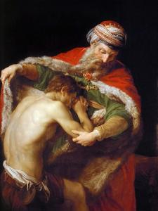 Return of the Prodigal Son, 1773 by Pompeo Girolamo Batoni