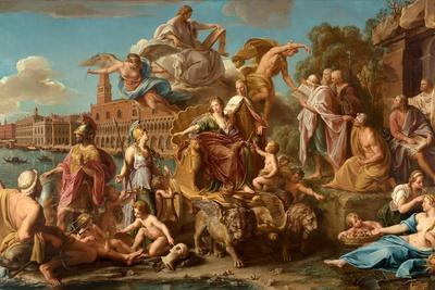 The Triumph of Venice, 1737