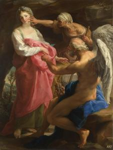 Time Orders Old Age to Destroy Beauty, 1746 by Pompeo Girolamo Batoni