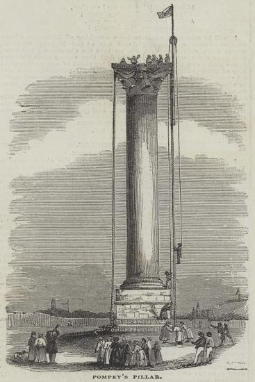 Pompey's Pillar--Giclee Print