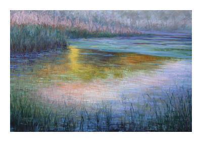 Pond at Dusk- Sarback-Giclee Print