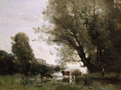 Pond's Edge in Normandy-Henry Thomas Alken-Giclee Print